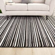 black and white striped rug rack runner area roselawnlutheran large size of grey navy rugs cream contemporary carpet chevron extra blue accent amazing plush