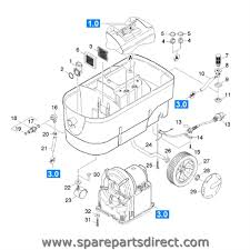 spare parts direct puzzi 100 outer body parts