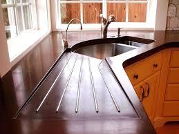 undermount sink concrete countertop sink concrete gorgeous design stained concrete come s m l f sink pour in place