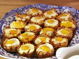 Baked Eggs in Hash Brown Cups | Recipe | Hash brown cups, Brown ...