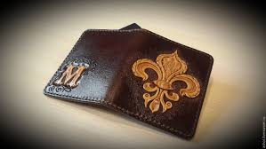 wallets business card holders handmade livemaster handmade personalized leather wallet