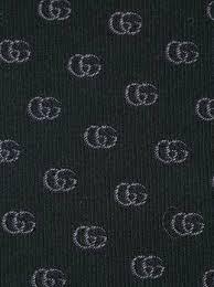 gucci logo. gucci logo pattern tie