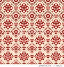 Nordic Pattern Extraordinary Nordic Pattern Snowy Pattern Stitch Stock Illustration [48