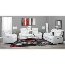 picture of transformer power reclining sofa with drop table