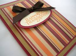 Homemade Thanksgiving Card Festival Collections