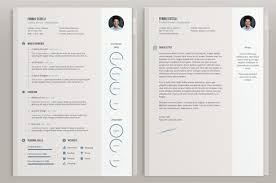Cool Resume Template Gorgeous 48 Best 48's Creative ResumeCV Templates Printable DOC