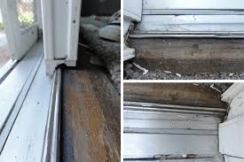 user submitted photos of a patio door track