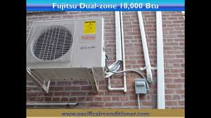 How To Install A Heat Pump Installation Of Fujitsu Ductless Air Conditioning Heat Pump In