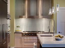 Clear Glass Backsplash Awesome Glass Back Splash On Kitchen With Sparkling Backdrop The
