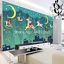 SKTYEE <b>Custom</b> Cartoon Dream <b>Star</b> Children Room <b>3D Wallpaper</b> ...