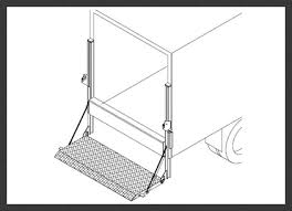 thieman tailgates hydraulic lift gate manufacturer tvl 125 m d railgates