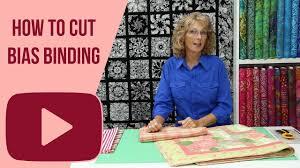 How to Cut Bias Binding - YouTube & How to Cut Bias Binding. Red Hart Quilts Adamdwight.com