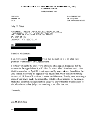 Unemployment Letter Template Deadling Info