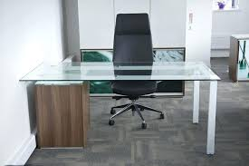 desk glass top perfect office table replacement home depot desk glass top