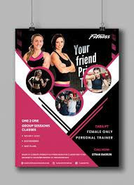Fitness Program Design Personal Trainers Entry 2 By Snusrat For Design A Flyer For A Personal