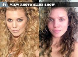 annalynne mccord from stars without makeup the 90210 bared it all via twitpic because she s over hollywood s perfection requirement