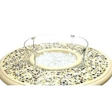 fire pit glass wind guard fire pit glass wind guard large picture of designs round glass