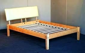 Low Full Bed Frame Full Size Raised Bed Frame Glamorous Full ...