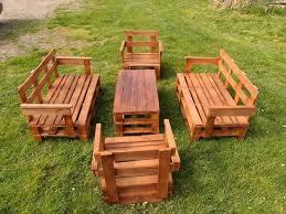 garden seating. Pallet Seating Set Garden Y