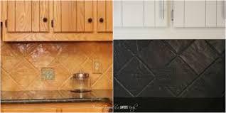 gloss kitchen tile paint subject black