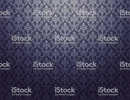 Zwart Behang Met Zilveren Damast Patroon Stockvectorkunst En Meer