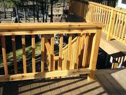 wood deck railing building deck railing fence horizontal wood deck railing designs