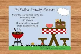 barbecue invitation template free word bbq invitation template