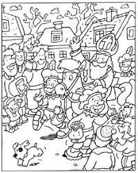 Kleurplaten Sinterklaas Moeilijk