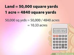 How To Calculate Acreage With Cheat Sheet Wikihow