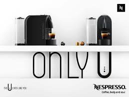 Nespresso U Machine Nespresso U Only U Beige Mullenlowe France Adforumcom