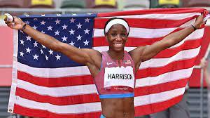 Kendra 'Keni' Harrison Takes Home 100m ...