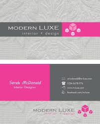 Business Card Examples For Interior Designers 6 Modern Interior Design Business Cards Images Interior