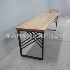 Dongguan Jin bowl furniture production restaurant hotel furniture modern  restaurant solid wood dining table JBA696H