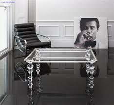 style acrylic furniture legslucite table leghigh transparent