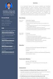Design Automation Engineer Sample Resume 16 Automation Engineer Resume  Samples