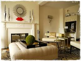 round mirrors over fireplaces es