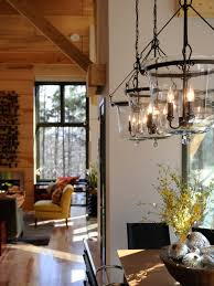 good awesome country dining room light fixtures with chandelier in a log home dining room image