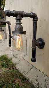 diy pipe lighting. pipe fixture lighting with rustinhibitor by vintagepipecreations diy