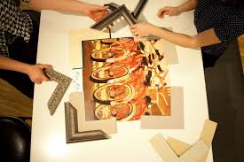 artists frame service