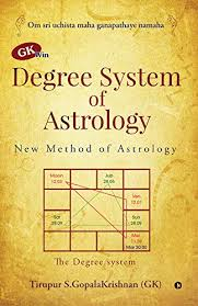 Gk Win Degree System Of Astrology New Method Of Astrology