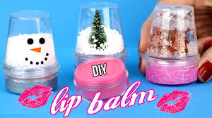 diy lip balm easy how to make miniature snow globe lip gloss cool diy crafts tutorials you