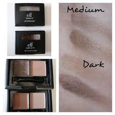 elf eyebrow kit medium vs dark. e.l.f ~ eyebrow kit \u0027dark\u0027 kit. 7 more images \u003e elf medium vs dark makeupalley