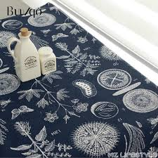Folk Style Cotton <b>Linen Fabric</b> Chinese Vintage Painting for DIY ...