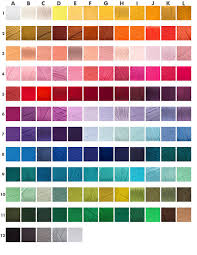 Full Color Chart Single Color Pom Earrings Pom Queens