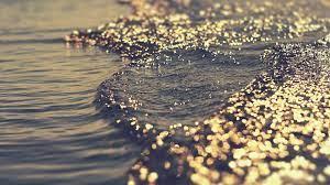 Waterline | Water sunset, Black magic ...