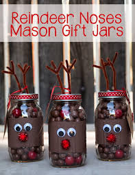 Decorating Canning Jars Gifts Creative Reindeer Inspired Crafts Decorations For Christmas 100 67
