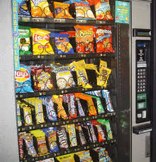 Cheeseburger Vending Machine Amazing New Calorie Labels On Snack Vending Machines Fooducate