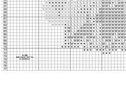 Pdf Shih Tzu Puppy Cross Stitch Counted Chart Pattern