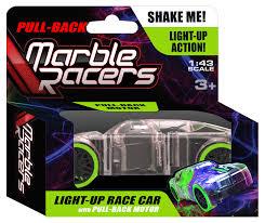 Pull Back Motor Design Pull Back Marble Racers Green