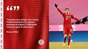 Entrevista a Thomas Müller sobre el Leipzig, el PSG y Lewy